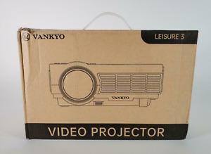 New VANKYO Leisure 3 Pro Mini Projector w/ Synchronize Smartphone Screen