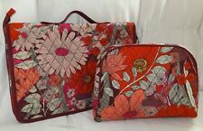 VERA BRADLEY Ultimate Jewelry Organizer & Cosmetic Case Set - Bohemian Blooms
