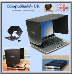 Compushade Laptop Shade Screen Hood Visor Anti Glare