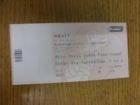 15/02/2014 Ticket: Rotherham United v Stevenage [Complete Ticket] . Thanks for v