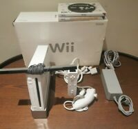 Boxed Nintendo Wii Console Bundle With Games & Accessories - Tested