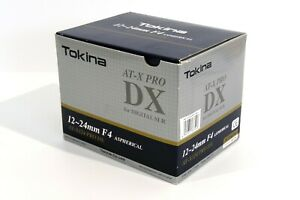 Tokina AT-X Pro DX 12-24mm F4 Aspherical lens for Nikon mount