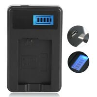 USB Battery Charger for NP-FW50 Single Slot for Sony Alpha A6000 A6300 A6500 A7r