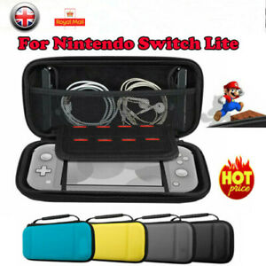 For Nintendo Switch LITE Hard Protective Cover Carry Storage Game Pouch Case UK