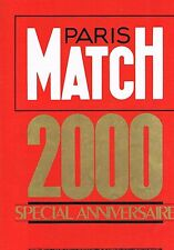 Paris Match  N°2000  25 Sept 1987:Special anniversaire