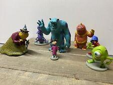 DISNEY PIXAR MONSTERS INC BOO MIKE SULLY PVC FIGURE LOT 7 toys