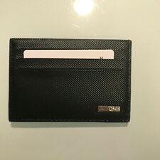 Lacoste Wallet Cardholder Blue Black Mens Leather Fitzgerald Card Holder