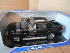 Cadillac 2002 Cadillac Escalade EXT Black Anson 1/18