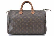 Authentic Louis Vuitton Monogram Speedy 35 Hand Bag Old Model LV A8721