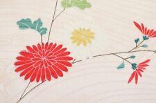 :=Japanese Kimono Vintage Haori women / Silk / robe fabric Pink 1nfuji29222