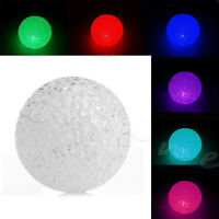 Night Light Crystal Ball Small Colorful Changing Led Home Room Decor Shaped Lamp