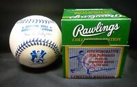 SEALED NEW Joe DiMaggio Day Official Rawlings AMERICAN LEAGUE Baseball - 9/27/98