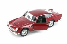 "5"" Kinsmart Aston Martin DB5 Diecast Model Toy Car 1:38 Pull Action Red"