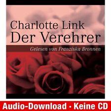 Hörbuch Download MP 3 der Verehrer Charlotte Link 9783837173093