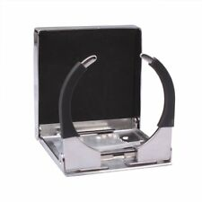 Stainless Steel Folding Cup Drink Holder for Marine Yacht Truck RV Universal
