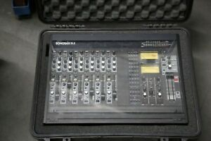 SONOSAX SX-S 6 channel. Swiss built. Location broadcast mixer.