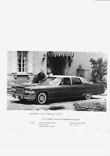 1974 1975 USA CADILLAC FLEETWOOD BROUGHAM D'ELEGANCE UK PRESS PHOTO 'BROCHURE'