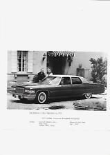 1974 1975 USA CADILLAC FLEETWOOD BROUGHAM D'ELEGANCE UK PRESS PHOTO 'BROCHURE'