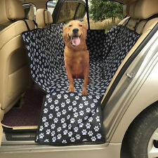 Pet Dog Footprint Mat Car Suv Seat Dog Cat Rear Back Seat Protect Cover Cushion