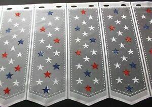 Scheibengardinen Restepaket 7 Bistrogardinen diverse Muster 60 cm hoch Landhaus