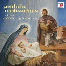 HANNS-MARTIN/MÜNCHENER BACH-CHOR SCHNEIDT - FESTLICHE WEIHNACHTEN  CD NEU