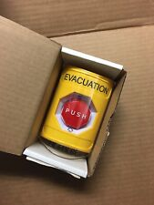 New listing New Sti Ss22A9Ev-En Yellow Turn-To-Reset Stopper Station Evacuation
