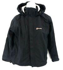 BERGHAUS Womens Jacket Coat 10 Black Nylon Hooded