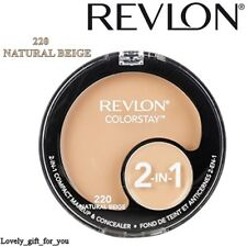 NEW Revlon Colorstay 2in1 Compact Makeup & Concealer Foundation Choice 6 shades