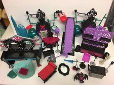 Monster High Accesorios Casa Muebles Mascotas. Repuestos.