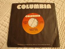 GARFUNKEL  I SHALL SING/FEUILLES-DO SPACE MEN PASS DEAD SOULS COLUMBIA 45983 M-