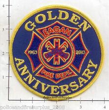 Minnesota - Eagan  MN Fire Dept Patch - Golden Anniversary