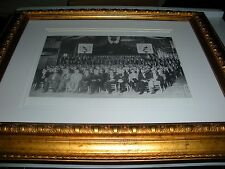 Bible Student 1910 Convention Photo cross and crown Watchtower Jehovah Russell