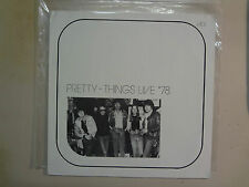 PRETTY THINGS:Live '78-Euro.LP PCV,July 8 Midas Club Alphen Aan Den Rijn Holland