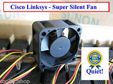 Quiet! Cisco Linksys SRW2024 Fan Replacement (New) Sunon MagLev 12dBA Noise