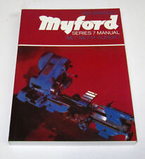 Myford serie 7 manuale / LIBRO ML7 SUPER 7 ML7-R TORNIO