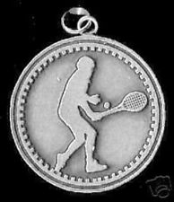 in God Silver Charm Jewelry Look New Tennis Player Faith