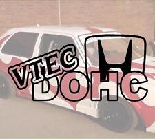 VTEC DOHC Hater JDM Sticker Adesivo PS Power Fun like Shocker