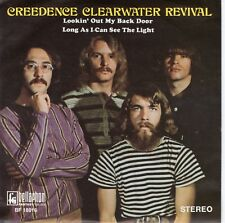 7inch CREEDENCE CLEARWATER REVIVAL lookin out my back door GERMAN EX+  (S0111)