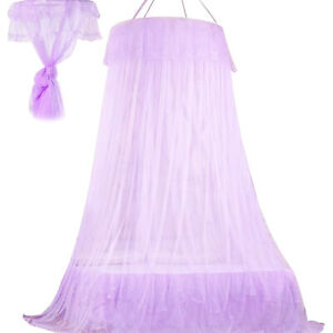 Mosquito Mesh Net Breathable Bed Canopy for Single To King Size Home Bedroom
