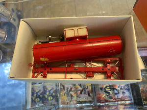 HO Iron Horse Models #15668 Brass 10K Gal Tank Car Painted Red
