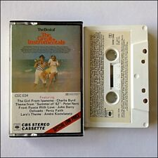 The Best of The Great Instrumentals 1977 Cassette (C38)