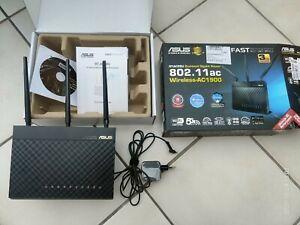 Asus RT-AC68U Router AP AC1900 Ai Mesh Gigabit LAN 1900 Mbit WiFi Dual-Band USB3