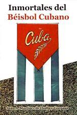 INMORTALES DEL BEISBOL CUBANO Famous Baseball Players Pelota Cuban Cuba