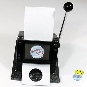 Papierstanze für Badgematic Button-Papiervorlagen, 25mm, 38mm, 50mm, 59mm o.75mm