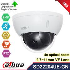 Dahua SD22204UE-GN Starlight 2MP 4X Zoom Mini Dome PTZ IP Camera POE WDR IVS