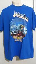 Judas Priest painkiller blue T shirt heavy metal iron maiden motorhead saxon