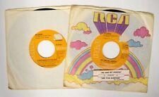 "2x Nilsson 45rpm 7"" Single EVERYBODY'S TALKIN' / ME AND MY ARROW Folk Rock RCA"