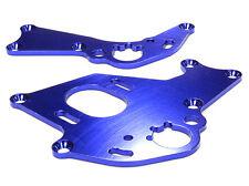 C26303BLUE Integy Billet Machined Motor Mount Plates for HPI 1/10 Sprint 2