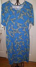 LuLaRoe Statue of Liberty Fourth of July Americana Collection XL Julia Dress NWT