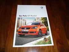 VW Polo GT ROCKET Prospekt 06/2008
